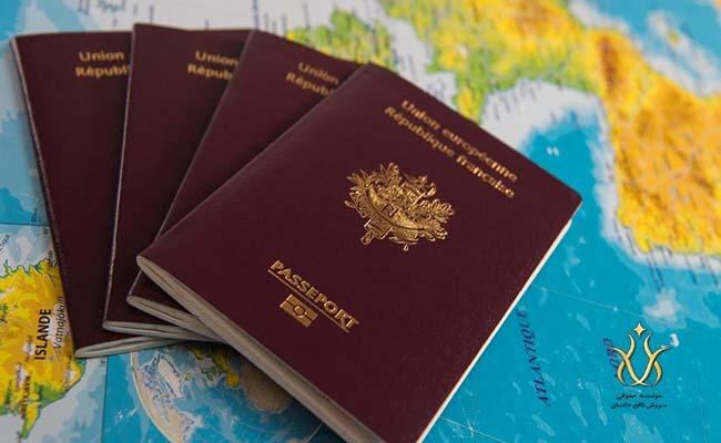 مراحل تعیین وقت سفارت فرانسه