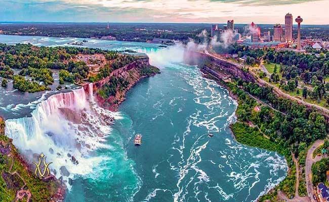 آبشار نیاگارا ایالات متحده آمریکا
