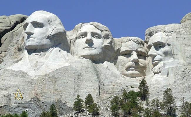 کوه راشمور امریکا ، تحصیل در آمریکا