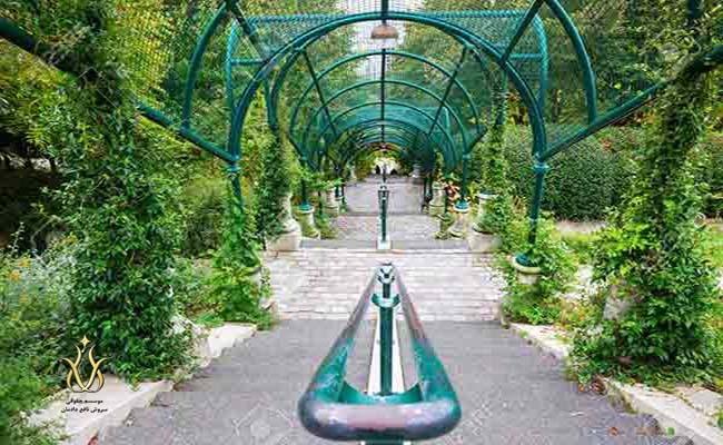 پارک بلویل پاریس ویزای شینگن