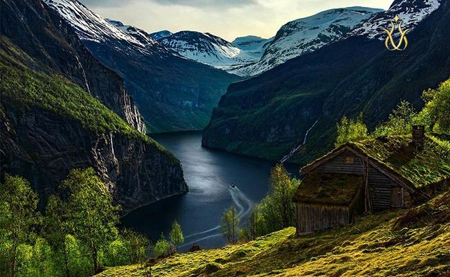 هزینه های نروژ آب و هوای جنوب نروژ